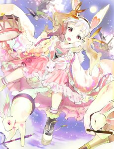 Rating: Safe Score: 30 Tags: 119 animal_ears bunny_ears dress User: KazukiNanako