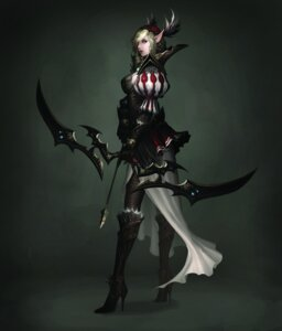 Rating: Safe Score: 25 Tags: armor atlantica_online elf fishnets pantyhose pointy_ears thighhighs weapon User: Radioactive