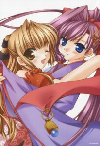 Rating: Safe Score: 4 Tags: kimono lefeuille millet minase_lin sorairo_no_organ User: tengokuno