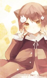 Rating: Safe Score: 14 Tags: animal_ears nekomimi nekotewi pantsu User: fireattack
