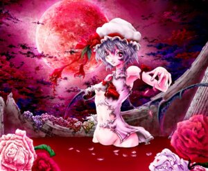 Rating: Questionable Score: 8 Tags: bathing nopan onokoro401 remilia_scarlet torn_clothes touhou underboob User: Mr_GT