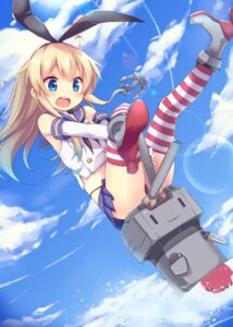 Rating: Safe Score: 78 Tags: kantai_collection mokoke pantsu rensouhou-chan shimakaze_(kancolle) thighhighs User: tbchyu001