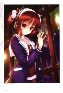 Rating: Safe Score: 58 Tags: hayakawa_harui headphones lass seifuku shoujo_shiniki_shoujo_tengoku tsukamine_miori User: Twinsenzw