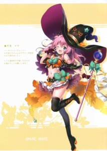 Rating: Safe Score: 30 Tags: eterna-radiare halloween riichu tagme thighhighs witch User: Radioactive