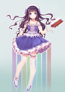 Rating: Safe Score: 32 Tags: card_captor_sakura daidouji_tomoyo dress garter heels thighhighs yuhuan User: charunetra