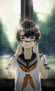 Rating: Safe Score: 8 Tags: dekunobou megane seifuku User: saemonnokami