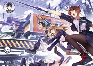 Rating: Safe Score: 20 Tags: pantyhose rail_wars! tagme uniform vania600 weapon User: kiyoe