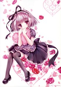 Rating: Safe Score: 33 Tags: dress heels lolita_fashion mubi_alice thighhighs User: RICO740