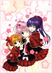 Rating: Safe Score: 9 Tags: crossdress fujisaki_nadeshiko hinamori_amu peach-pit screening seifuku shugo_chara yuiki_yaya User: charunetra