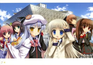 Rating: Safe Score: 45 Tags: angel_beats! crossover fujima_takuya little_busters! natsume_kyosuke natsume_rin noumi_kudryavka seifuku yui_(angel_beats!) yurippe User: PedroRoman
