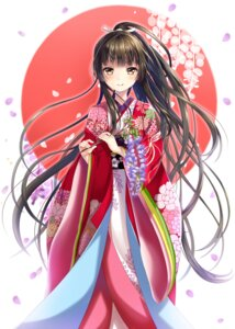Rating: Safe Score: 71 Tags: hakuda_tofu kimono User: donicila
