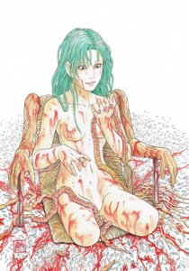 Rating: Questionable Score: 8 Tags: blood guro naked nipples tagme User: Radioactive