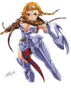Rating: Questionable Score: 12 Tags: armor cleavage hisayuki_hirokazu leina queen's_blade User: YamatoBomber