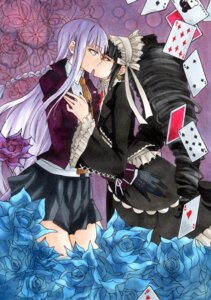 Rating: Safe Score: 15 Tags: celestia_ludenberg dangan-ronpa dress ginnotoru gothic_lolita kirigiri_kyouko lolita_fashion seifuku yuri User: Radioactive