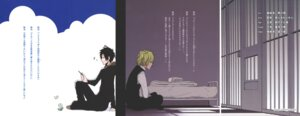 Rating: Safe Score: 7 Tags: durarara!! heiwajima_shizuo male orihara_izaya User: Radioactive