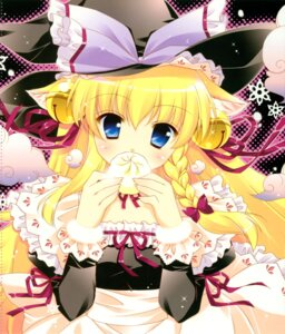 Rating: Safe Score: 27 Tags: animal_ears kirisame_marisa nekomimi shigunyan touhou User: midzki