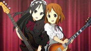 Rating: Safe Score: 25 Tags: akiyama_mio guitar hirasawa_yui k-on! tagme User: NotRadioactiveHonest