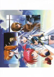 Rating: Safe Score: 7 Tags: agito fate_testarossa mahou_shoujo_lyrical_nanoha mahou_shoujo_lyrical_nanoha_strikers reinforce_zwei takamachi_nanoha yagami_hayate User: daemonaf2