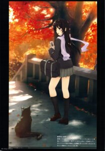 Rating: Safe Score: 38 Tags: akiyama_mio coffee-kizoku k-on! neko royal_mountain seifuku User: fireattack