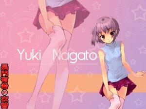 Rating: Safe Score: 14 Tags: ito_noizi nagato_yuki suzumiya_haruhi_no_yuuutsu wallpaper User: LHM-999