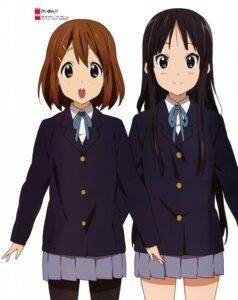 Rating: Safe Score: 24 Tags: akiyama_mio hirasawa_yui horiguchi_yukiko k-on! pantyhose seifuku User: Hachiko