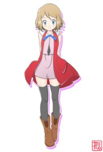 Rating: Safe Score: 10 Tags: pokemon pokemon_xy serena_(pokemon) tax2rin thighhighs User: Radioactive