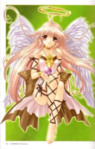Rating: Safe Score: 10 Tags: kimizuka_aoi wings User: Davison