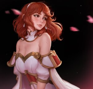 Rating: Questionable Score: 18 Tags: celica_(fire_emblem) cleavage daria_leonova dress fire_emblem fire_emblem_echoes no_bra User: Darkthought75