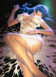 Rating: Questionable Score: 66 Tags: cleavage cream dress erect_nipples ino izayoi_no_hanayome torn_clothes wet yubiki_shitone User: Wraith