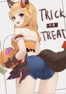 Rating: Safe Score: 31 Tags: animal_ears anouetto ass halloween ootsuki_yui tail the_idolm@ster the_idolm@ster_cinderella_girls User: Mr_GT