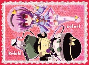 Rating: Safe Score: 3 Tags: komeiji_koishi komeiji_satori nonoko touhou User: konstargirl
