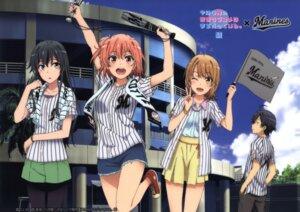 Rating: Safe Score: 105 Tags: baseball hikigaya_hachiman isshiki_iroha pantyhose tagme yahari_ore_no_seishun_lovecome_wa_machigatteiru. yuigahama_yui yukinoshita_yukino User: shizuku96