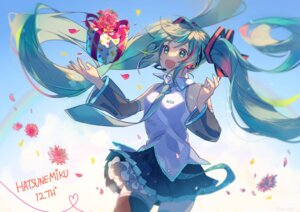 Rating: Safe Score: 23 Tags: hatsune_miku omutatsu tattoo thighhighs vocaloid User: Mr_GT