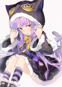 Rating: Safe Score: 14 Tags: aida_(chinhung0612) hikawa_kyouka pointy_ears princess_connect princess_connect!_re:dive skirt_lift tail User: Munchau
