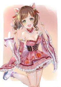 Rating: Safe Score: 44 Tags: act animal_ears garter lolita_fashion maekawa_miku nekomimi no_bra tail the_idolm@ster the_idolm@ster_cinderella_girls wa_lolita User: fairyren