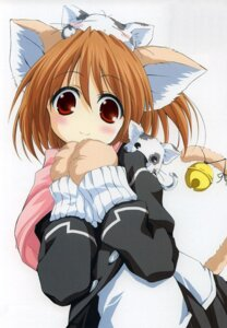 Rating: Safe Score: 20 Tags: animal_ears like_a_mint maid neko nekomimi tail wakatsuki_sana User: blues