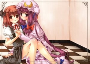 Rating: Questionable Score: 17 Tags: koakuma pantsu patchouli_knowledge tirumu touhou User: Mr_GT