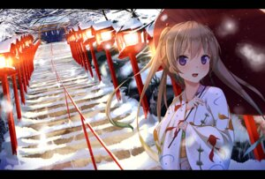Rating: Safe Score: 78 Tags: ao_no_kanata_no_four_rhythm arisaka_mashiro kimono ryuuguu_yassuu umbrella User: Mr_GT