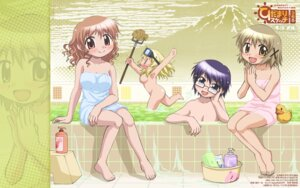 Rating: Questionable Score: 10 Tags: bathing hidamari_sketch hiro miyako naked sae shiotsuki_kazuya towel wallpaper yuno User: Radioactive
