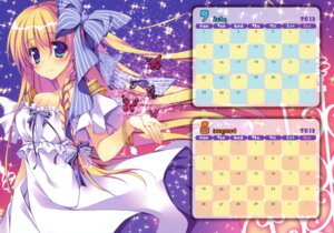 Rating: Safe Score: 33 Tags: calendar cleavage dress matsurija nanaroba_hana User: WtfCakes