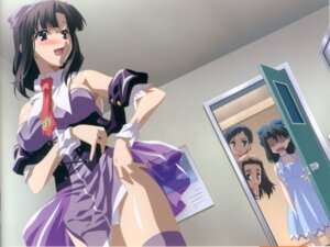 Rating: Questionable Score: 31 Tags: bleed_through cameltoe dress gotou_junji hashimoto_oruha kiyoura_setsuna murayama_noan overflow pantsu saionji_youko school_days screening see_through summer_days summer_dress thighhighs undressing waitress User: acas