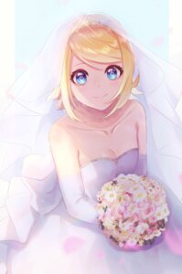Rating: Safe Score: 21 Tags: cleavage dress kagamine_rin mipi vocaloid wedding_dress User: Mr_GT