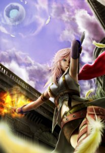 Rating: Safe Score: 18 Tags: dangan_(pixiv22262) final_fantasy final_fantasy_xiii lightning User: blacktarprophecy