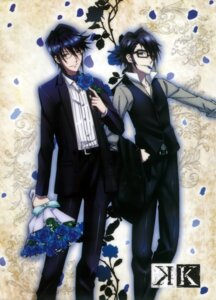 Rating: Safe Score: 4 Tags: fushimi_saruhiko k male megane munakata_reisi tagme User: Radioactive