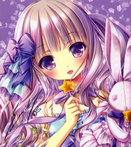 Rating: Safe Score: 13 Tags: autographed tinkle yumeya_chakai User: kaguya940385