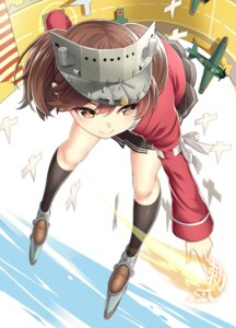 Rating: Safe Score: 39 Tags: kantai_collection kase_daiki ryuujou_(kancolle) seifuku User: Mr_GT