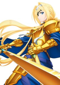 Rating: Safe Score: 28 Tags: alice_schuberg armor eyepatch sword sword_art_online sword_art_online_alicization sword_art_online_alicization_lycoris User: kiyoe