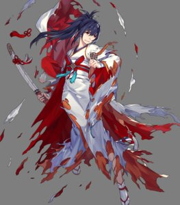Rating: Questionable Score: 7 Tags: fire_emblem fire_emblem_heroes fire_emblem_if japanese_clothes nintendo noy oboro_(fire_emblem) sword torn_clothes User: fly25