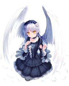 Rating: Safe Score: 20 Tags: angel angel_beats! dress gothic_lolita key lolita_fashion na-ga tenshi wings User: marechal