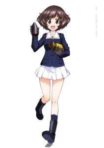 Rating: Safe Score: 6 Tags: akiyama_yukari girls_und_panzer uniform weapon User: drop